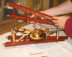 21. remove top clock plate