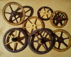 25. Completed wheels